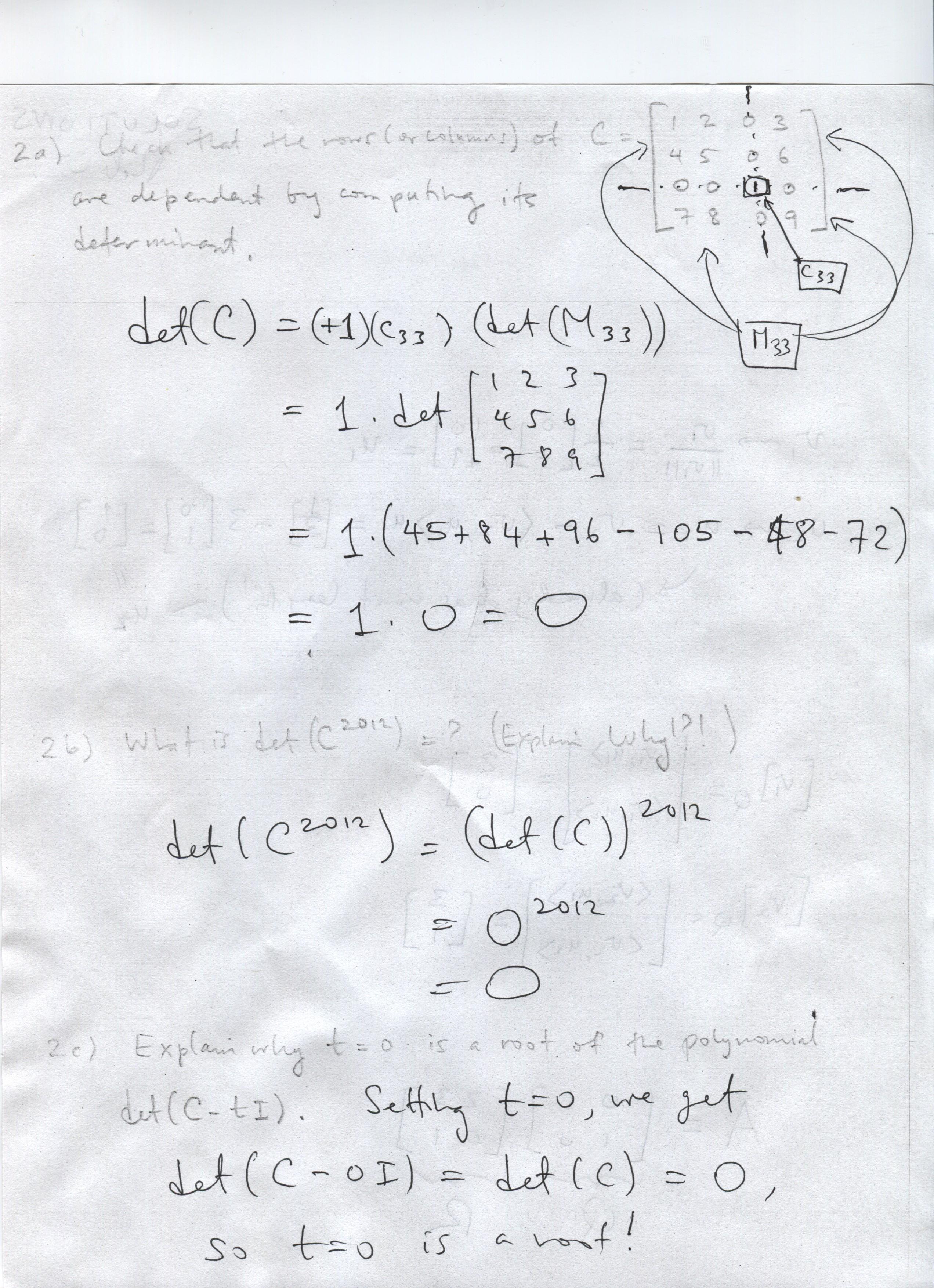 Rob Kusner's Math Classes